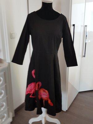 60ies-Style Kleid mit Flamingos