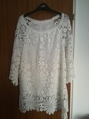 Hippie Dress white polyester