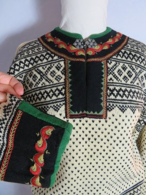 Vintage Norwegian Sweater multicolored