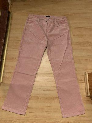 bpc Pantalon en velours côtelé vieux rose
