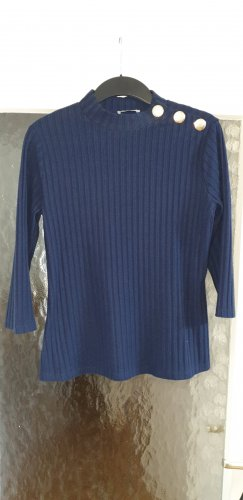 Orsay Short Sleeve Sweater dark blue