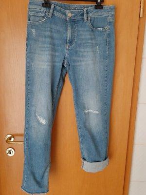 Raffaello Rossi Boyfriend Jeans blue cotton