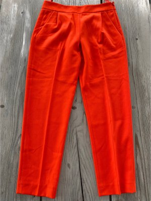 7/8 Bundfaltenhose orangerot French Connection Gr. 38 ungetragen
