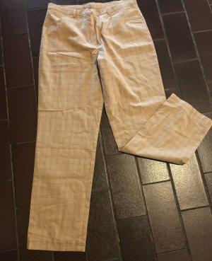 Golfino Pantalone a 7/8 beige-rosso scuro