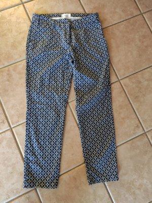 Brax feel Good 7/8 Length Trousers white-steel blue