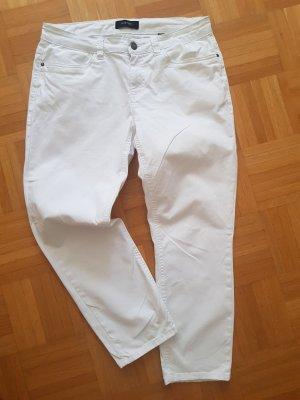 Woman by Tchibo 7/8 Length Trousers white