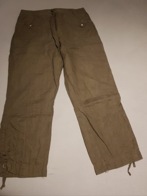 CANADA 7/8 Length Trousers grey brown