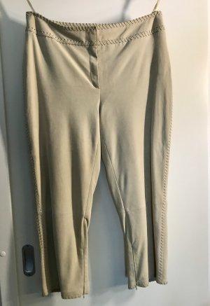 ae elegance 7/8 Length Trousers cream leather