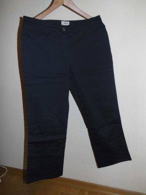 Pantalone Capri blu scuro Cotone