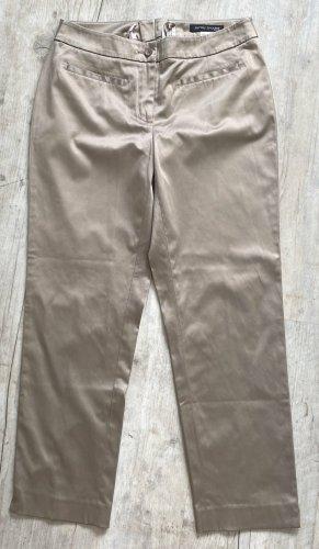 Ashley Brooke 7/8 Length Trousers beige cotton