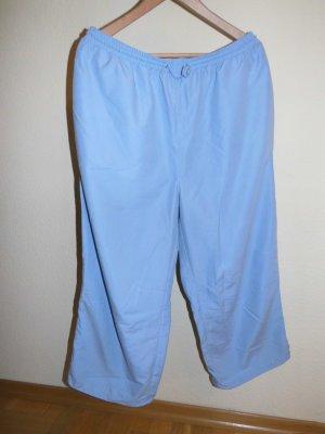 Pantalone Capri azzurro Poliestere