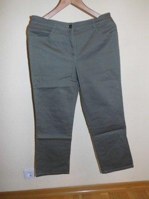 Pantalone Capri cachi Cotone