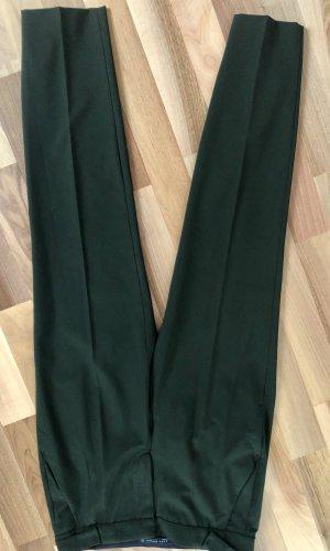 Zara Basic Pantalón de pinza verde bosque