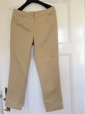 Peter Hahn 7/8 Length Trousers sand brown cotton