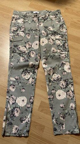 Aniston Pantalone a 7/8 cachi-rosa pallido