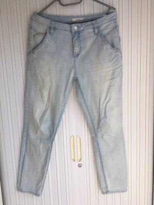 Opus Pantalone a 7/8 azzurro Cotone