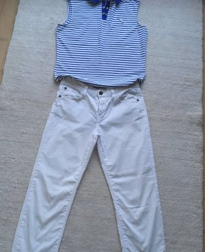 Holiday Jeans 7/8 blanc