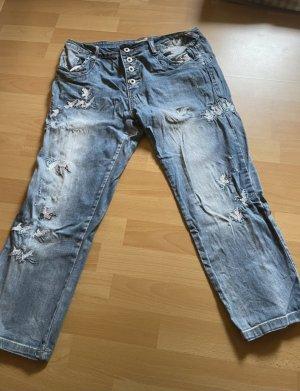 place du jour 7/8 Length Jeans blue