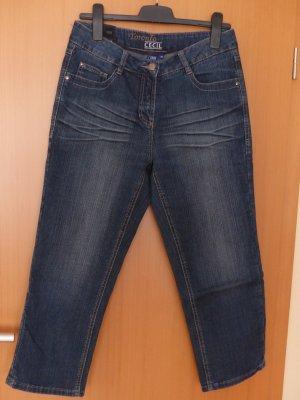 7/8-Jeans, blau