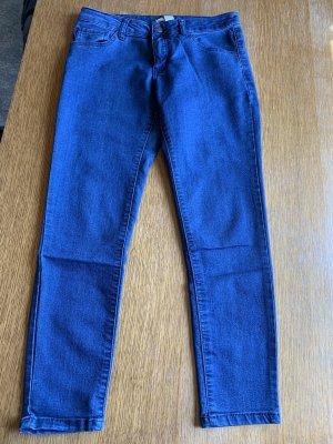 7/8 Jeans blau skinny