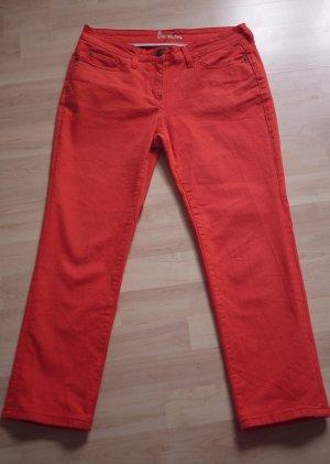 Boden 7/8 Length Trousers salmon cotton