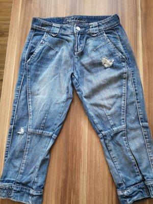 Fishbone 7/8-jeans blauw