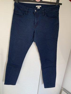 7/8 Jeans dunkel blau