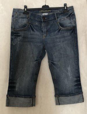 okay Jeans 7/8 bleu