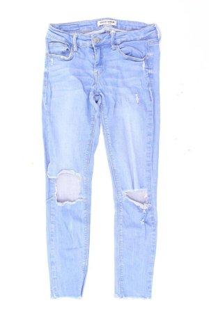 Jeans 7/8 bleu-bleu fluo-bleu foncé-bleu azur