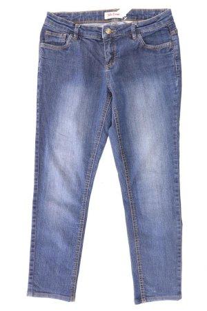 7/8-jeans blauw-neon blauw-donkerblauw-azuur