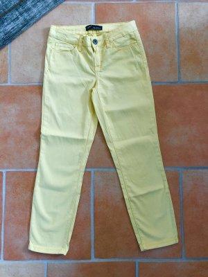 Arizona 7/8 Length Jeans pale yellow