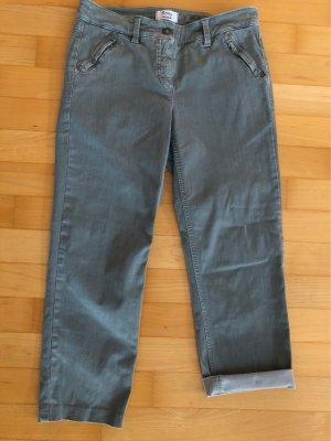 Gerry Weber 7/8-jeans grijs-groen-khaki