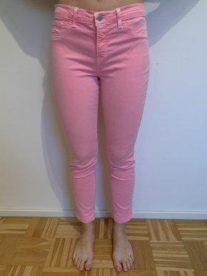 J brand Jeansy 7/8 różowy