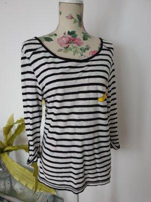 Only Knitted Jumper black-white