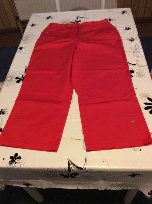 Canda Spodnie 7/8 czerwony