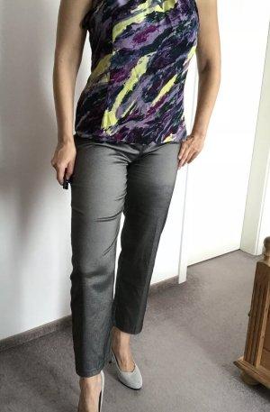 Alba Moda 7/8 Length Trousers silver-colored