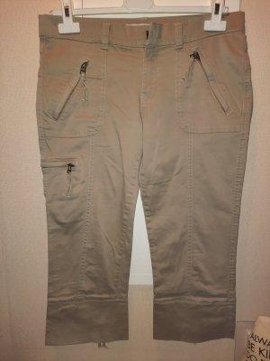 7/8 Stretch-Jeans beige