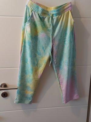SheIn Spodnie dresowe Wielokolorowy