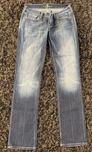 7 For All Mankind Jeans met rechte pijpen lichtblauw