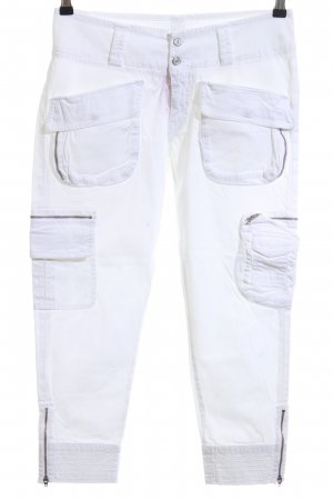 7 For All Mankind 3/4-Hose weiß Casual-Look