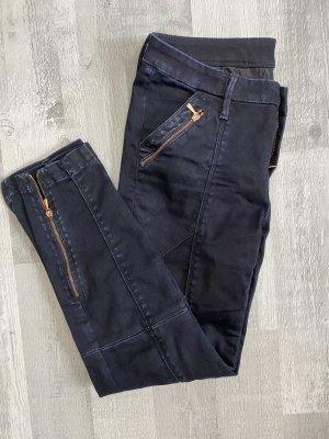 7 For All Mankind Jeans 3/4 bleu foncé