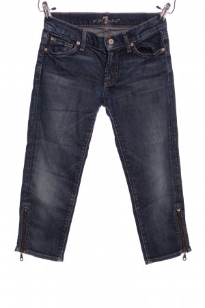 7 For All Mankind Jeans a 3/4 blu stile casual