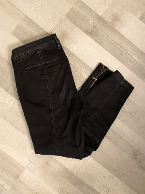 7 For All Mankind 3/4 Length Jeans dark blue