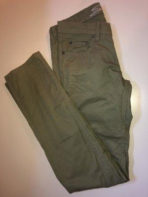 7 For All Mankind Dopasowane jeansy khaki