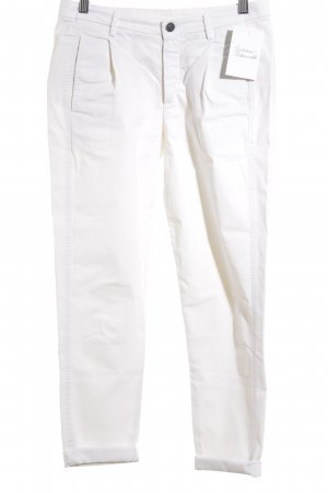 7 For All Mankind 7/8 Length Trousers white simple style