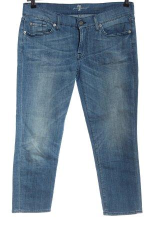 7 For All Mankind Jeans 7/8 bleu style décontracté