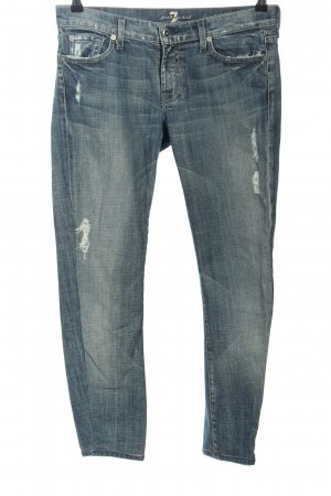 7 For All Mankind 7/8-jeans blauw casual uitstraling