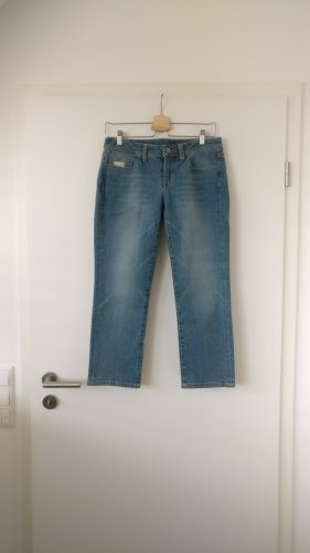 7 For All Mankind 7/8 Length Jeans blue