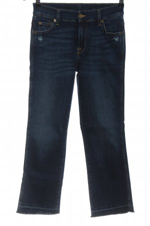 7 For All Mankind Jeans a 7/8 blu stile casual