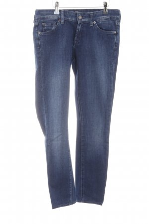 7 For All Mankind 7/8 Jeans blau Casual-Look